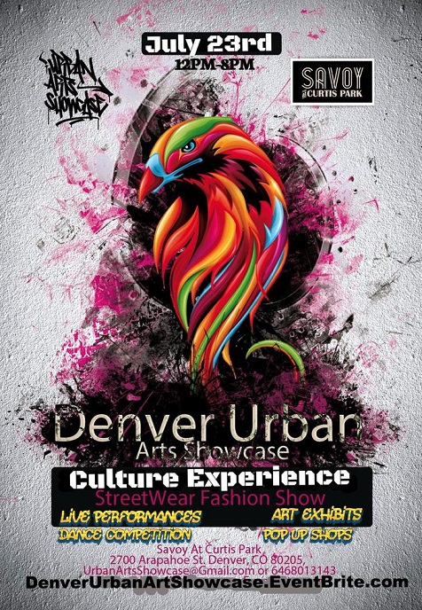 Denver Urban Arts Showcase July 23rd 2016